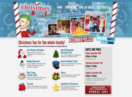 Christmas Fest 2010 Website Design by Ingage Creative