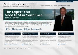 Oil Expert Witness Web Design by Ingage Creative