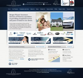 Web Design for Simmons Musser Warner