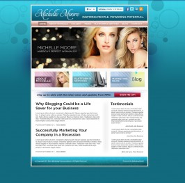 OKC Website Design for Michelle Moore