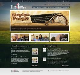 Website Design for Claremore FUMC