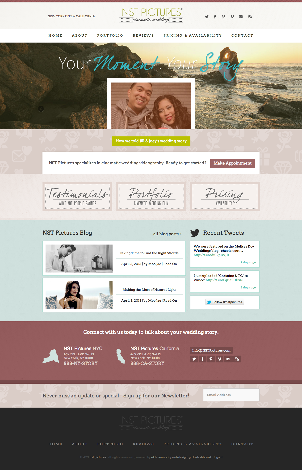 NST Pictures Web Design Oklahoma City