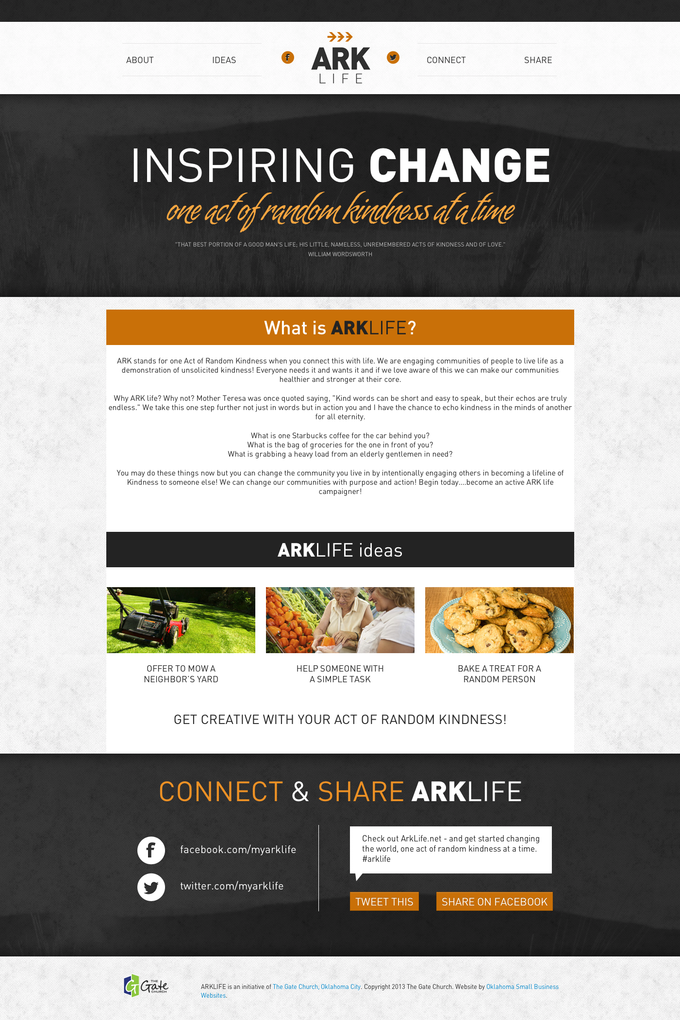 Ark Life Ministry Website Oklahoma City